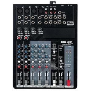 DAP Audio GIG-83CFX 8 kanalna mešalna miza z DSP efekti